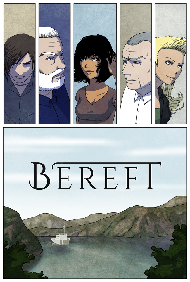 Bereft prologue: Turn The Page, page 20. A modern adventure webcomic!